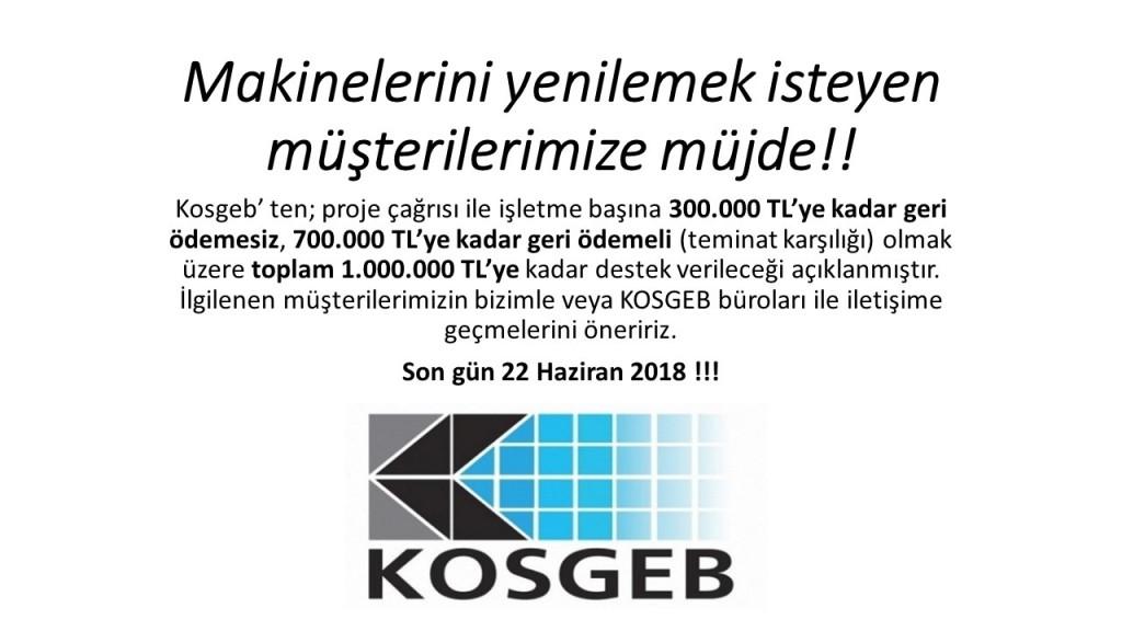 KOSGEB 2018